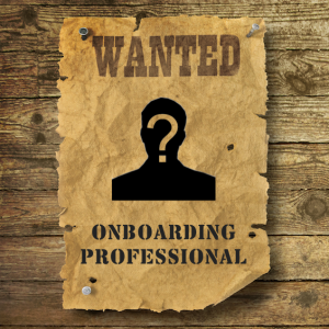 Wanted! Onboarding Professional